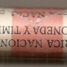 Monete FNMT: CARTUCHO DE 50 MONEDAS DE 1 PESETA DE ALUMINIO DE 1987. SC. Lote 50074472