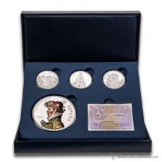 Monedas FNMT: ESPAÑA 2015 PROOF III SERIE TESOROS MUSEOS ESPAÑOLES - COLECCION PLATA *NUMISBUR*. Lote 50211424