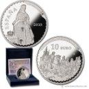 Monedas FNMT: ESPAÑA 10 EURO PLATA 2015 FEDERICO DE MADRAZO TESOROS MUSEOS ESPAÑOLES 8 REALES *NUMISBUR*. Lote 160144421