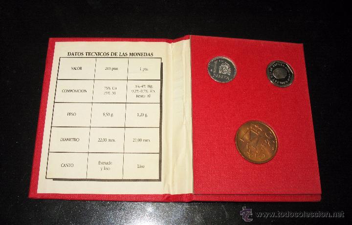Monedas FNMT: cartera conmemorativa de la III Exp. Nal. de numismática de 1987 - Foto 2 - 50853161