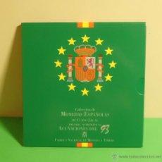 Monedas FNMT: CARTERA OFICIAL NUMERADA DE PESETAS CON LAS ACUÑACIONES DEL AÑO 1993. Lote 51410416
