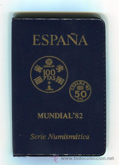 Monedas FNMT: SERIE NUMISMATICA CARTERA MUNDIAL-82 (1980 *80) S/C) - Foto 3 - 51603975