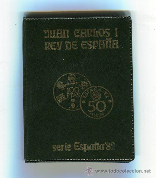 Monedas FNMT: SERIE NUMISMATICA CARTERA MUNDIAL-82 (1980 *80) S/C) (CARTERA VERDE) - Foto 3 - 51604184