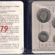 Monedas FNMT: ESPAÑA CARTERA OFICIAL FNMT 1979 PRUEBAS NUMISMATICAS- CON MONEDAS-. Lote 263554280