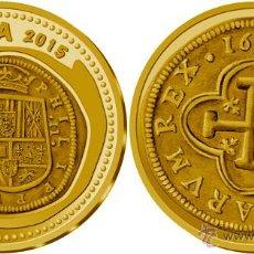 Monedas FNMT: ESPAÑA 100 EURO 2015 ORO JOYAS NUMISMATICAS CECA DE MADRID. Lote 51691334