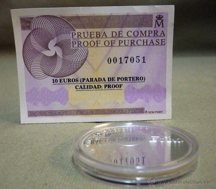 Monedas FNMT: MONEDA DE PLATA, 10 EUROS, CAMPEONES DEL MUNDO, SUDAFRICA , FNMT, 2010, CON CERTIFICADO, SIN ESTUCHE - Foto 2 - 52414981