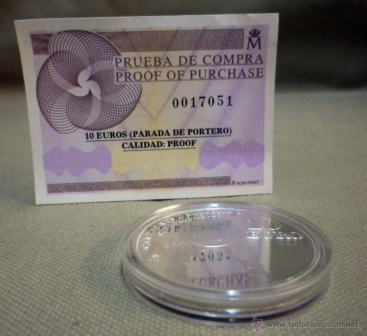 Monedas FNMT: MONEDA DE PLATA, 10 EUROS, CAMPEONES DEL MUNDO, SUDAFRICA , FNMT, 2010, CON CERTIFICADO, SIN ESTUCHE - Foto 5 - 52414981