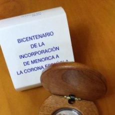 Monedas FNMT: ESPAÑA 10 EURO PLATA 2002 PROOF - BICENTENARIO INCORPORACIÓN MENORCA. Lote 53271771