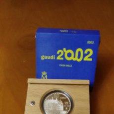 Monedas FNMT: 10 EUROS ESPAÑA 2002 GAUDI - CASA MILA. Lote 53272040