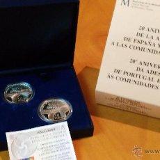 Monedas FNMT: 10 EUROS 2006 ANIVERSARIO DE LA ADHESION DE ESPAÑA Y PORTUGAL A LAS COMUNIDADES. Lote 53281462