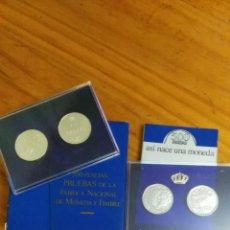 Monedas FNMT: NACIMIENTO DE UNA MONEDAS PRUEBA DE 500 PESETAS. Lote 53285753