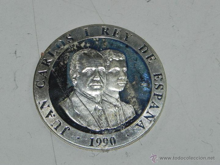 Monedas FNMT: 2000 Ptas DE PLATA Olimpiadas 1992 DE BARCELONA, Emblema por una cara y por la otra los reyes Juan C - Foto 2 - 54339238