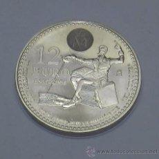 Monedas FNMT: MONEDA DE 12 EURO 1605-2005 - PLATA - IV. CENTENARIO DE LA PRIMER EDICIÓN DE EL QUIJOTE - JUAN CARL. Lote 54339464