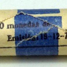 Monedas FNMT: CARTUCHO FNMT 50 MONEDAS 5 PESETAS EMISIÓN 18/12/1975 ESTRELLA 77. Lote 54607179