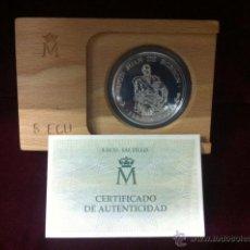 Monedas FNMT: MONEDA 5 ECUS. HOMENAJE A D. JUAN. Lote 54756228
