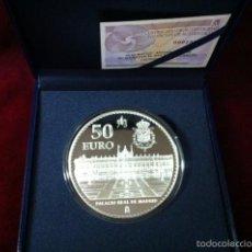Monedas FNMT: 2013. 50 EUROS. 75 ANIVERSARIO DE SU MAJESTAD EL REY. Lote 56802050