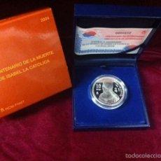 Monedas FNMT: 10 EUROS 2004 V CENTENARIO DE LA MUERTE DE ISABEL LA CATOLICA. Lote 57346612