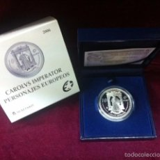 Monedas FNMT: 10 EUROS 2006 PERSONAJES EUROPEOS: CARLOS V. Lote 57347870