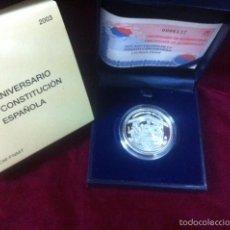 Monedas FNMT: 10 EUROS 2003 XXV ANIVERSARIO DE LA CONSTITUCION ESPAÑOLA. Lote 57348374