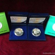 Monedas FNMT: 10 EUROS (JUEGO) EXPO ZARAGOZA 2008. Lote 57368025