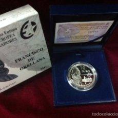 Monedas FNMT: 10 EUROS 2011 FRANCISCO DE ORELLANA. Lote 57369136
