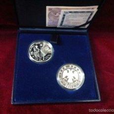 Monedas FNMT: SERIE CONJUNTA 2011 AÑO DUAL ESPAÑA RUSIA 10 EUROS Y 3 RUBLOS . Lote 57492906