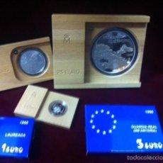 Monedas FNMT: 1998 COLECCION COMPLETA PLATA EURO. Lote 57651879