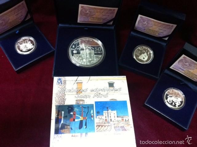 2012 PINTORES ESPAÑOLES - JOAN MIRO (Numismática - España Modernas y Contemporáneas - FNMT)