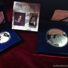Monedas FNMT: 2008 SERIE COMPLETA PINTORES ESPAÑOLES VELAZQUEZ. Lote 57494279