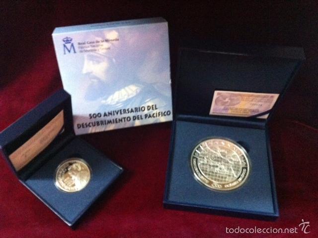 2013 DESCUBRIMIENTO DEL PACIFICO (Numismática - España Modernas y Contemporáneas - FNMT)
