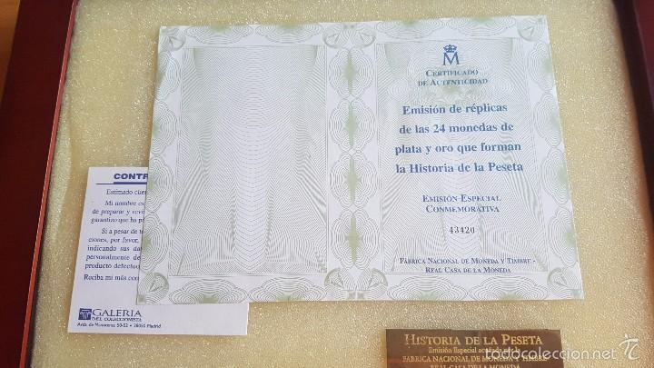 Colección 24 Monedas Plata Historia De La Peset Comprar Monedas