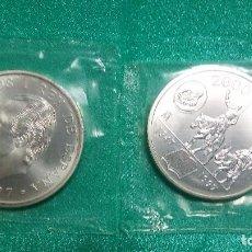 Monedas FNMT: ESPAÑA 2000 PESETAS 1997 CONMEMORATIVA 450 ANV. NACIMIENTO CERVANTES-PLATA 925´-FUNDA. Lote 114849398