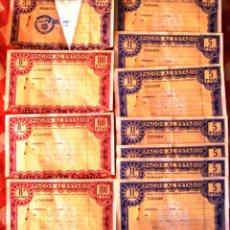 Monedas FNMT: PAPEL DEL ESTADO DE ESPAÑA AÑO 1995 LOTE, EN PESETAS . Lote 62549208