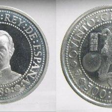 Monedas FNMT: 500 PESETAS 1989 QUINTO CENTENARIO PLATA 6,70GR. Lote 64837115