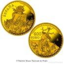 Monedas FNMT: ESPAÑA 400 EURO ORO 2016 EL BOSCO EL CARRO DE HENO IV SERIE TESOROS DE MUSEOS. Lote 67385757