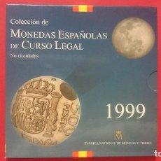 Monedas FNMT: CARTERA OFICIAL FNMT AÑO 1999 - MONEDAS ESPAÑOLAS - 500, 200,100,50,25,10,5 Y 1PESETAS -... R-4219. Lote 71581287