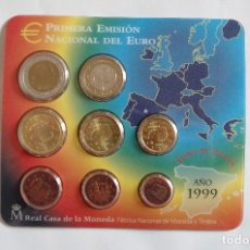 Monedas FNMT: ESPAÑA 1999 OFICIAL FNMT EUROSET 8 MONEDAS. Lote 72890003