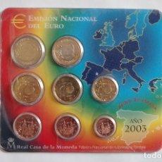 Monedas FNMT: ESPAÑA 2003 OFICIAL FNMT EUROSET 8 MONEDAS. Lote 72890711