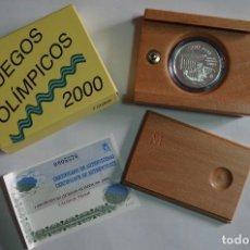 Monete FNMT: MONEDA 1000 PTS - 1999 - PLATA PROOF - JUEGOS OLIMPICOS - SIDNEY 2000 - CON CERTIFICADO Y ESTUCHE. Lote 73359791