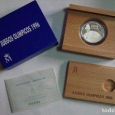 Monedas FNMT: MONEDA 1000 PTS - 1995 - PLATA PROOF - JUEGOS OLIMPICOS 96 - CON CERTIFICADO Y ESTUCHE. Lote 73368011