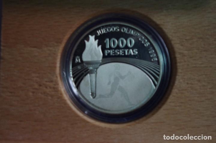 Monedas FNMT: MONEDA 1000 PTS - 1995 - PLATA PROOF - JUEGOS OLIMPICOS 96 - CON CERTIFICADO Y ESTUCHE - Foto 2 - 73368011