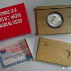 Monedas FNMT: MONEDA 1000 PTS - 1997 - PLATA PROOF - CENTENARIO DE LA MUERTE CANOVAS - CON CERTIFICADO Y ESTUCHE. Lote 73373727