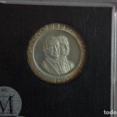 Monedas FNMT: ESTUCHE MONEDA 200 PESETAS 1992 PLATA PROOF - MADRID CAPITAL EUROPEA DE LA CULTURA - CON CERTIFICADO. Lote 73398535