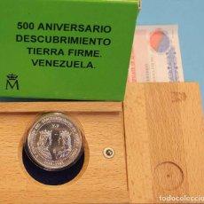 Monedas FNMT: ESTUCHE OFICIAL MONEDA 3 EUROS 1998 PLATA 500 ANIVERSARIO DESCUBRIMIENTO DE TIERRA FIRME . Lote 73484187