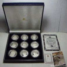 Monedas FNMT: COLECCIÓN DE MONEDAS DE LOS GRANDES PINTORES ESPAÑOLES. PLATA .999. CON ESTUCHE, ENCAPSULADAS Y CERT. Lote 74625931