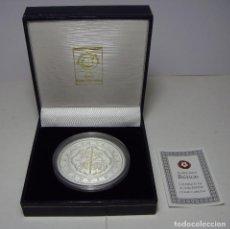 Monedas FNMT: MONEDA DE COLECCIÓN. REPRODUCCIÓN DE CINCUENTÍN DE PLATA .999. FELIPE IV. 1626. CON ESTUCHE.. Lote 74627067