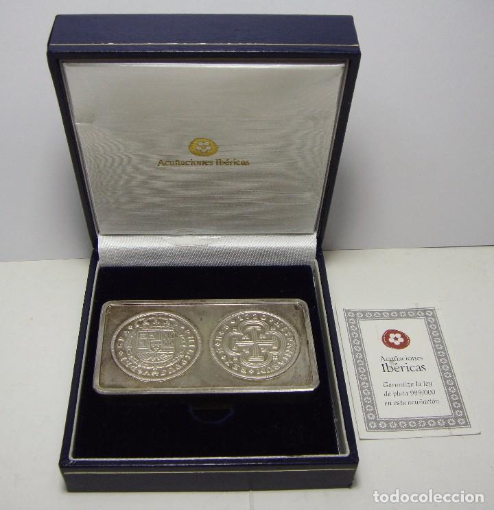 Lingote de plata 999 acu aciones ib ricas co comprar monedas fnmt en todocoleccion 74627715 - Cuberterias de plata precios ...