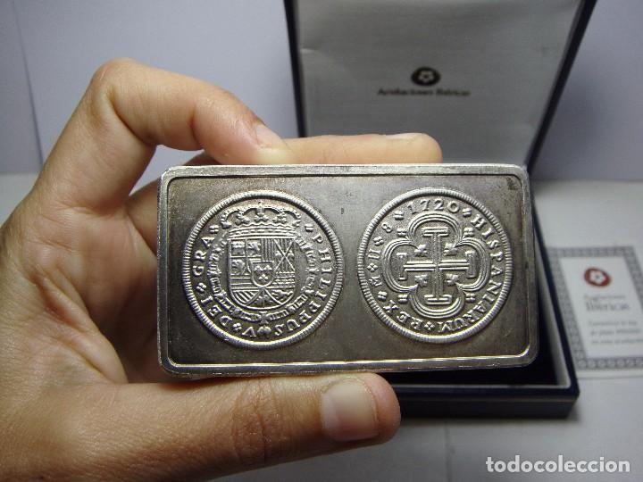 Monedas FNMT: Lingote de Plata Pura .999 mls. Acuñaciones Ibéricas. Con estuche y certificado. - Foto 2 - 74627715