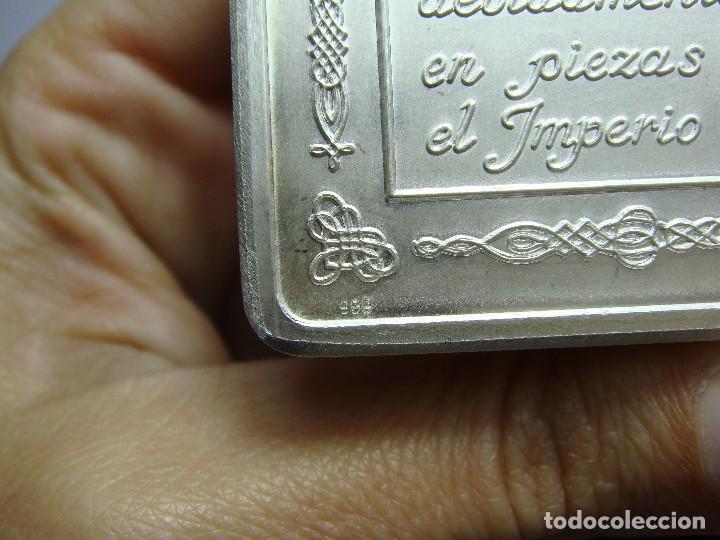 Monedas FNMT: Lingote de Plata Pura .999 mls. Acuñaciones Ibéricas. Con estuche y certificado. - Foto 5 - 74627715