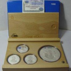 Monedas FNMT: MONEDAS DE COLECCIÓN. PLATA. CASA DE BORBÓN - 1998. CON ESTUCHE, CERTIFICADO Y ENCAPSULADAS.. Lote 74899135